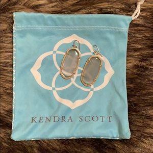 Kendra Scott Elle earrings in Slate
